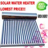 Stainless Steel Heat Pipe Pressuried Solar Hot Water Heater System