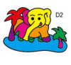 Sand Art of Elephant (JX022)