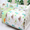 Printed 100% Cotton Baby Crib Bedding Set