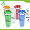 22oz Double Wall as Straw Tumbler for Snack with Flip Cap (TB-B402)