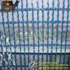 Square Razor Mesh Concertina Fence Welded Razor Wire
