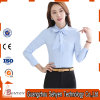Business Women Wear Long Sleeve Formal Shirt of Cotton
