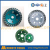 "4"" Single Stone Diamond Cup Abrasive Grinding Wheel"