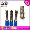 Solid Carbide 4 Flutes End Mills for Steel