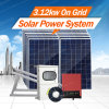Morege Complete 3000W Grid Tie Photovoltaic Solar Panel System