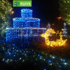 LED Beautiful Fairy Curtain Light for Wedding Decoration