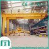 Lifting Machinery Double Girder Semi-Gantry Crane