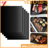 Hot Selling PTFE Coated Non-Stick Silicone BBQ Grill Mats (XY-SM-005)