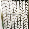Aluminium Perforated Carved Decorative Metal Panel for Screen
