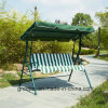 Outdoor 3 Seats Garden Swing Chair