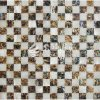 Freshwater Shell and Abalone Shell Square Mosaic Tile