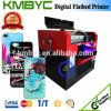 CE Approved A3 UV Flatbed Cell Phone Case Printing Machine