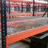 Powder Coated Warehouse Racking with Tear Drop Style
