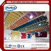 Colarful Tegular Edge Suspended Ceiling Panel /Fiberglass Acoustic Ceiling Baffle with Excellent Sound Absorption