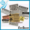 OEM Logo Plate Aluminum Labels for Advertising