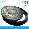 En124 Good Anti-Theft 650mm Composite Manhole Cover with Frame