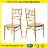 High Quality Golden Metal Chiavari Chair for Wedding and Event