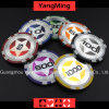 12g Ultimate Sticker/ Poker Chips European Clay Laser Casinochips; (YM-CY02)