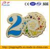 Custom Colored 20th Anniversary Metal Lapel Pin Badge