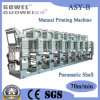 Shaftless Automatic Rotogravure Printing Machine for Plastic Film (Pneumatic Shaft)