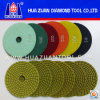 Huazuan 4-7 Inch Diamond Pads Granite Polishing Pads for Sale
