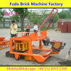 Qmr4-45 Simple Concrete Block Diesel Engine Mobile Brick Machine