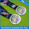 Service Medal with Ribbon Sport Game Medal Award Customized Logo