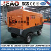 Manufacturer Portable Diesel Mobile Screw Air Compressor with Ce