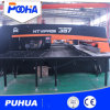 Hydraulic CNC Turret Punching Equipment for Steel Plate Hole Punching