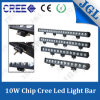 Single Row 180W CREE Offroad LED Light Bar 10W Chip
