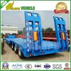 60t Hydraulic Ladder 3 Axles Low Loader Semi Trailer