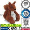 CE PP Cotton Stuffed Soft Animal Squirrel Plush Toy