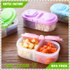 Clear Kitchen Transparent Plastic PP Food Containers with Lid/Keeps Contents Fresh and Secure, Clear