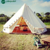 5m Outdoor Luxury Cotton Canvas Family Camping Bell Tents with Stove Hole