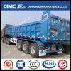 Cimc Huajun 3axle Strengthened Structure Dumping Trailer