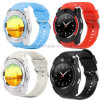 Fashion/Bluetooth Sport Smart Wrist Watch with Full View Round-Screen W8