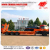 3 Axles 60 Tons Excavator Transport Gooseneck Low Bed Tow Truck