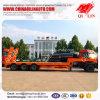 3 Axles 60 Tons Excavator Transport Gooseneck Low Bed Tow Truck