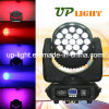 19PCS 12W RGBW 4in1 Wash+Beam+Zoom LED Head Light