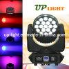 19PCS 12W RGBW 4in1 Wash+Beam+Zoom LED Head Lighting