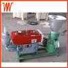 Diesel Engine Flat Die Biomass Straw Wood Pellet Press