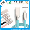 2.1A Zinc Alloy Diamond Jelly USB Data Cable for iPhone Smartphone