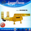 Tandem Axles Lowboy Trailer for Excavator Machinery Transportation