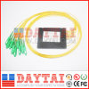 1X8 Optical Fiber PLC Splitter (FTTH, CATV)