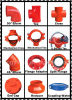 """High Quality Ductile Irongrooved Mechanical Tee (FM/UL) 159*2"""""""