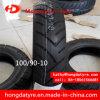 Hot Sale Motorcycle Scooter Tire Tubeless Tyre 100/90-10