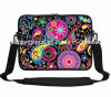 "15"" Sublimation Printing Neoprene Laptop Sleeve with Should Belt"