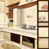 Interior House&Hotel Usage Glossy Marble Look Porcelain Wall Tile