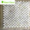 Italian White Marble Floor Tile Mini Fish Scale Mosaic Tile