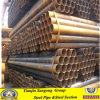High Quality Q235 Ms Steel Black Round Pipe Price